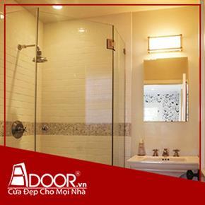 Phòng tắm kính cường lực: Mẫu 1