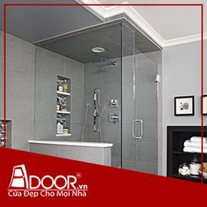 Phòng tắm kính cường lực: Mẫu 4
