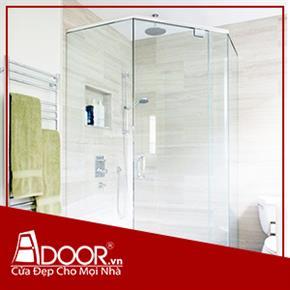 Phòng tắm kính cường lực:  Mẫu 8