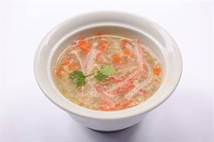 Súp hải sản nấm tươi
