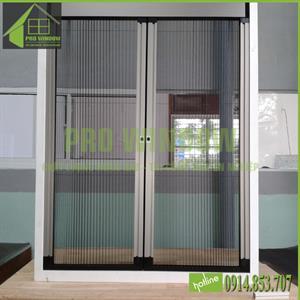 Cửa lưới chống muỗi, cửa sổ mở xếp