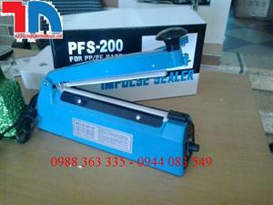 Máy dán túi nilon dập tay PFS200