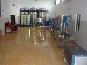 Hệ thống đóng chai nước tinh khiết