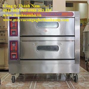 Lò nướng bánh 2 tầng 4 khay