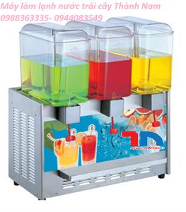 Máy làm lạnh nước trái cây 3 ngăn
