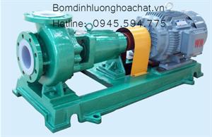 Bơm hóa chất lót nhựa IFH 65-50-160