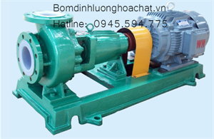 Bơm hóa chất lót nhựa IHF 100-80-125