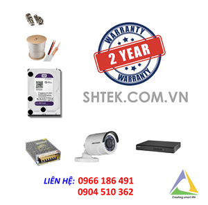 Camera trọn bộ HD1080P HIKVISION DS-2CE16D1T-IR