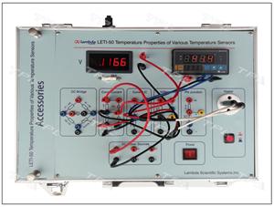 Thiết bị thí nghiệm đo đường đặc tính nhiệt của cảm biến nhiệt độ