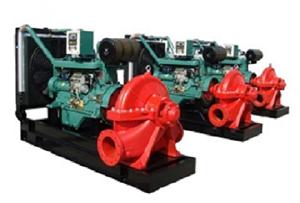 Máy bơm chữa cháy động cơ Diesel Model: XBC