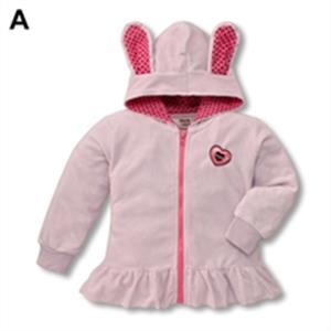 Áo mũ tai thỏ bé gái - WK06