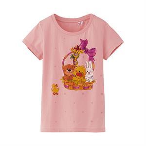 Áo phông bé gái  Suzy's Zoo Uniqlo - Ngộ nghĩnh, đáng yêu - K29