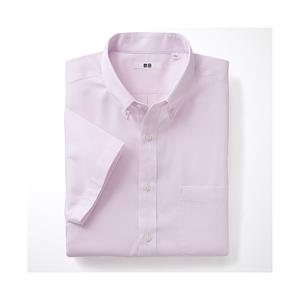 Áo sơ mi nam Uniqlo - Dry Easy Care Dobby Shirt - MS53