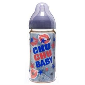 Bình sữa Chuchu Baby Japan PPSU - cổ rộng 240ml - BS08