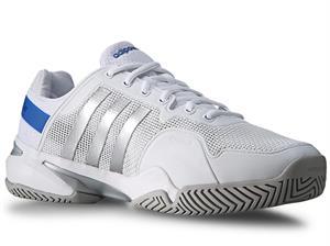 Adidas Barricade 8 White/Silver/Blue - GA15