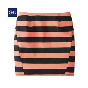 Juyp kẻ Gu-Uniqlo - Orange - WD142