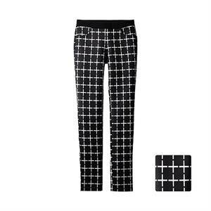 Quần  legging kẻ ô vuông Uniqlo 01 -Black - WP59