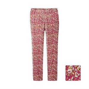 Quần nữ hoa Uniqlo -Pink - WP57