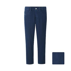 Denim Legging Uniqlo nữ - blue - WP38