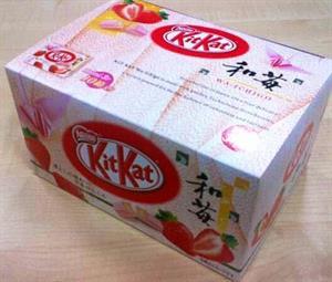Strawberry Kitkat - Hương Dâu tây - BK13