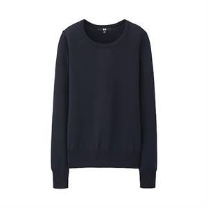 Áo len nữ Extra Fine Merino Uniqlo - WL01