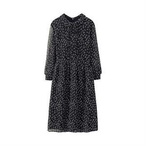 Váy voan nữ Uniqlo - Black - WD125
