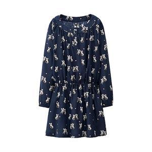 Áo váy Uniqlo bé gái  GD06 - váy xinh cho bé