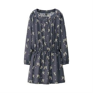 Áo váy Uniqlo bé gái  GD07 - váy xinh cho bé