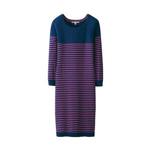 Váy len kẻ nữ Uniqlo WD25