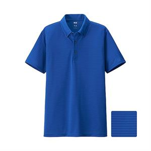 Áo polo thể thao Uniqlo - Dry Ex AT47 - Blue