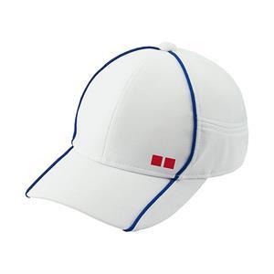 Mũ tennis Uniqlo - Trắng viền xanh biển - MU04