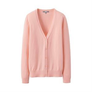 Áo len nữ Uniqlo - 11 Pink - WL72