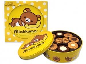 Bánh quy Bourbon - Rilakkuma - 345g - BK07