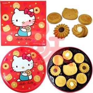 Bánh quy Bourbon Hello Kitty  bơ sữa - 345g - BK06