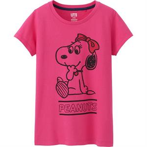 Áo phông bé gái Uniqlo - K13 - Ngộ nghĩnh, đáng yêu