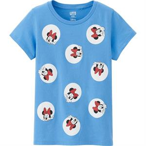 Áo phông bé gái Uniqlo - K07 - Ngộ nghĩnh, đáng yêu