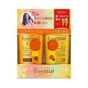 Cặp dầu gội Essential Kao  - Rich Damage Care - Dành cho tóc khô và hư tổn - DG03