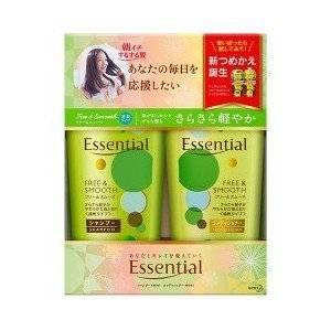 Cặp dầu gội Essential Kao  - Free & Smooth - Mềm mượt tóc - DG04