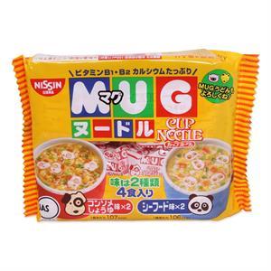 Mỳ ăn liền cho bé Mug Nissin Nhật - MUG
