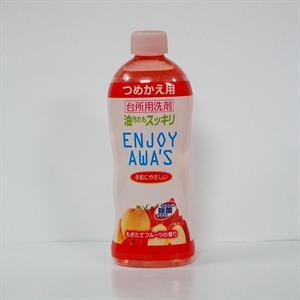 Nước rửa chén enjoy awa's hương trái cây 400ml - TR20