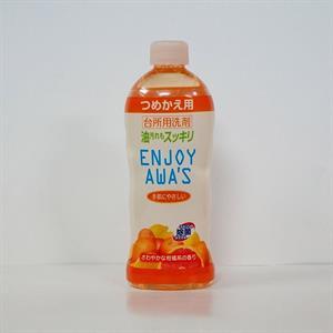 Nước rửa chén enjoy awa's hương chanh  400ml - TR19
