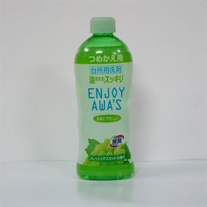 Nước rửa chén enjoy awa's hương nho xạ 400ml - TR17