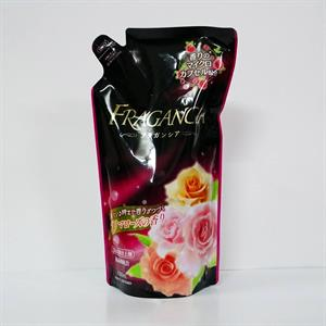 Nước xả làm mềm vải hương hoa hồng 600ml - TR13