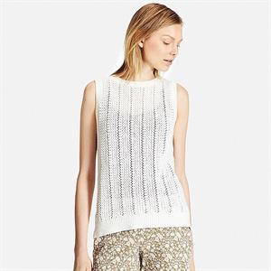 Áo len gile nữ Uniqlo -  WL101