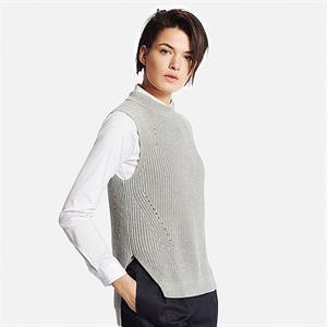 Áo len gile nữ Uniqlo -  WL114