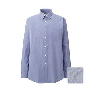 Áo sơ mi nam dài tay cotton mịn J+ Uniqlo - ML86