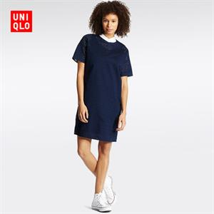Váy thêu Uniqlo xinh xắn - WD165