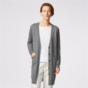 Áo len nữ dáng dài Uniqlo  - WL44
