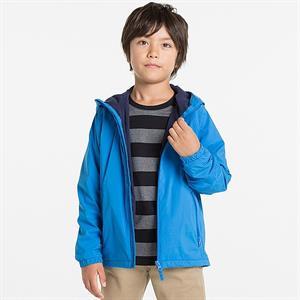 Áo gió nhẹ lót lông cừu cho bé trai  - WK05