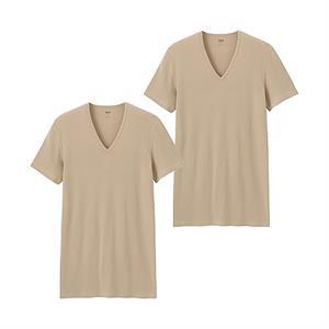 Set 2 áo cotton Nam  Uniqlo - TC20